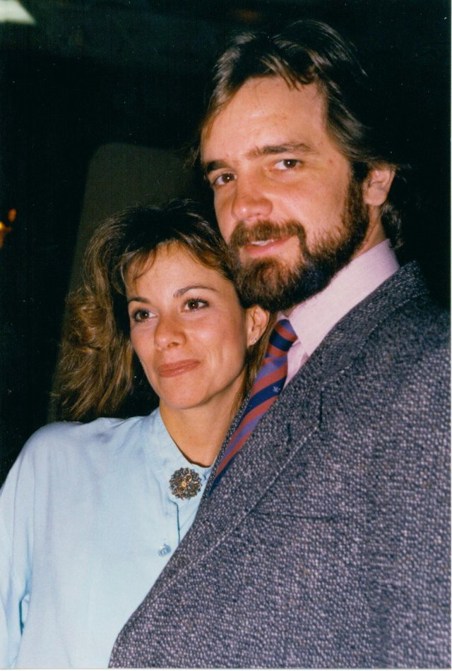 Nancy Lee Grahn and husband